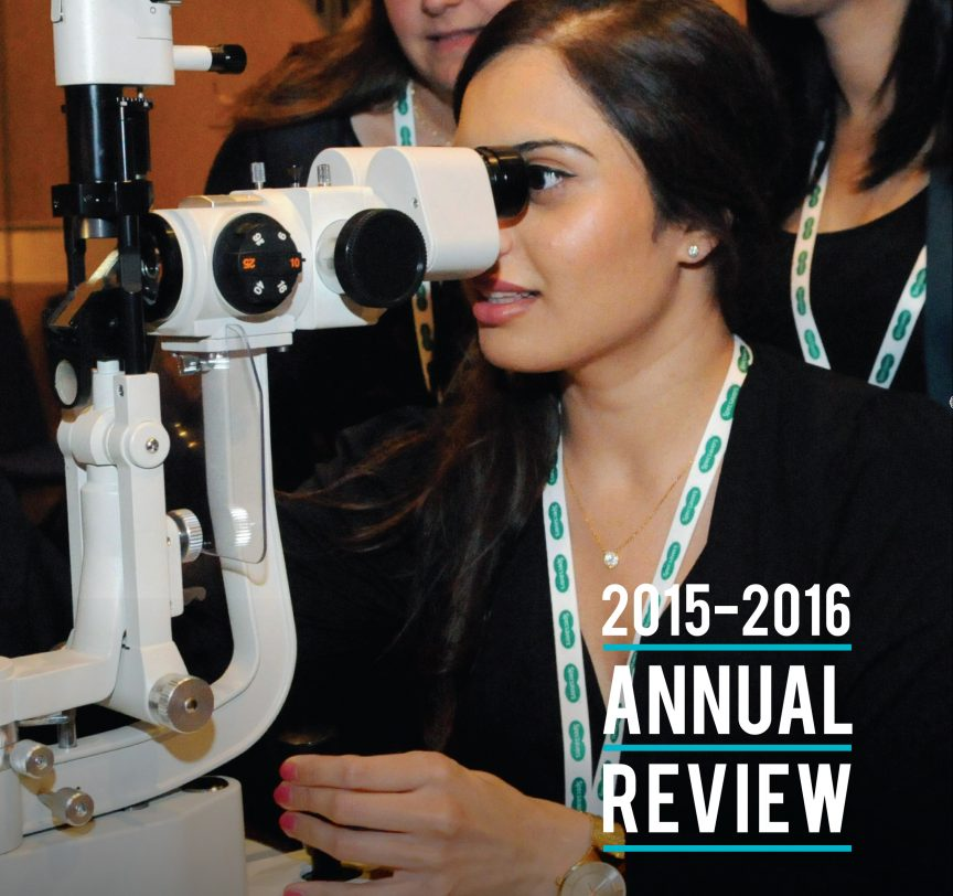 Specsavers annual report 2016 - front cover