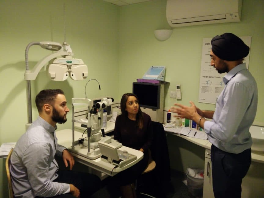 Glaucoma-skills-workshop-WOPEC-Specsavers-London-Wall