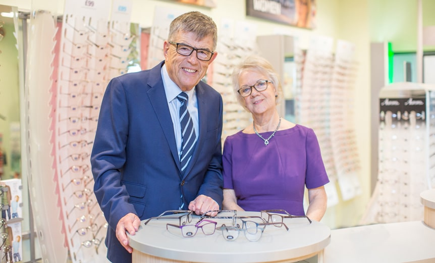 Doug-and-Dame Mary-Perkins-Specsavers