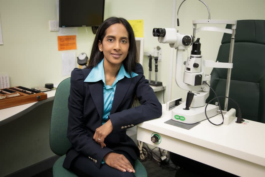 Bamini Raj - optometrist in Specsavers West Wickham