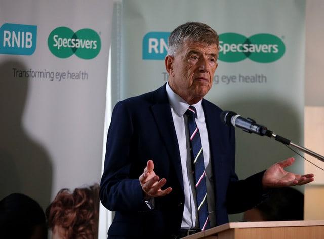 Doug Perkins calls for action to improve eye health