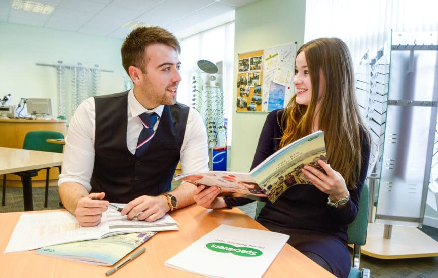 Specsavers Graduate training induction