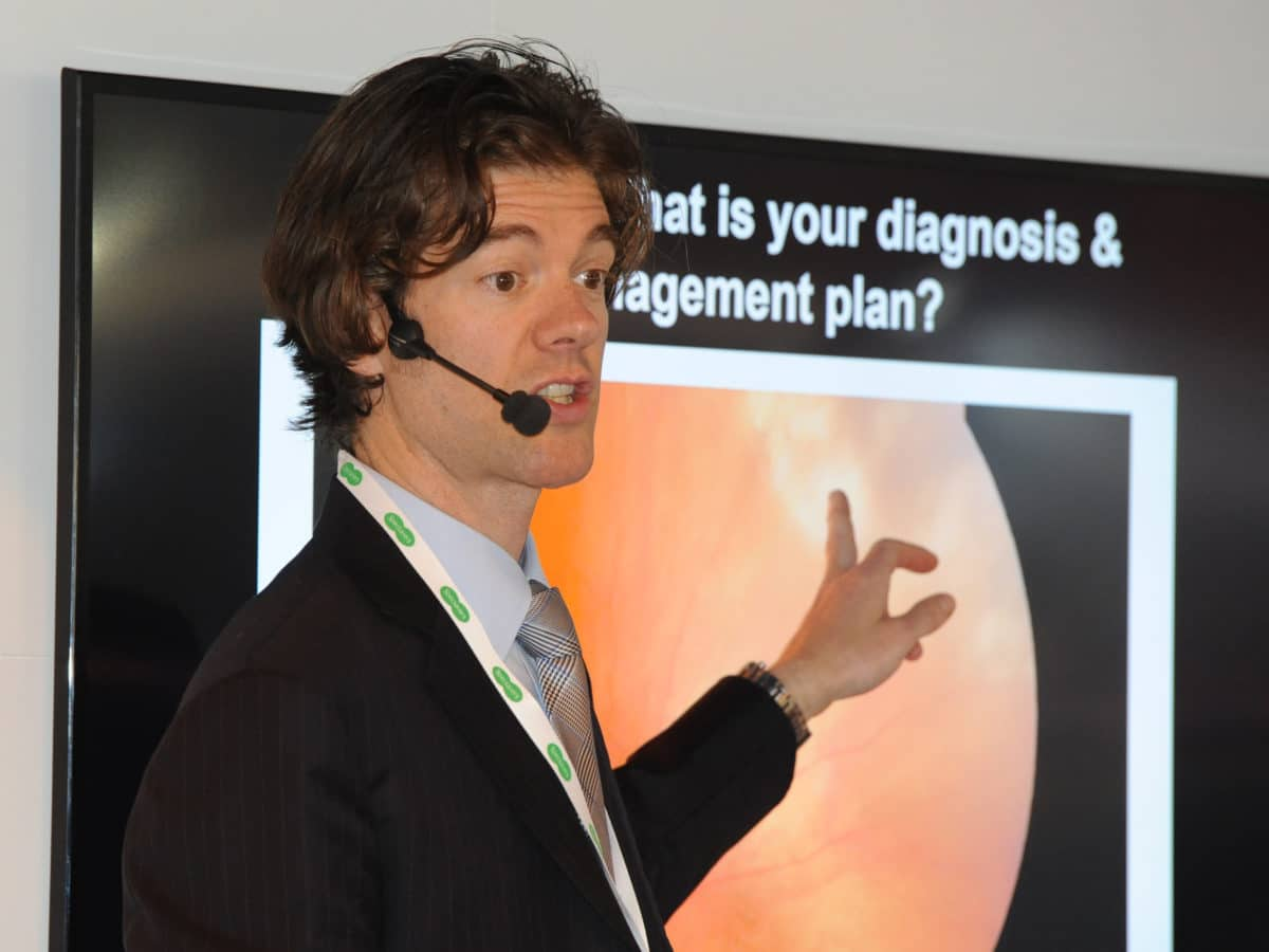 Adam Wannell optometrist will present at 100% Optical 2018