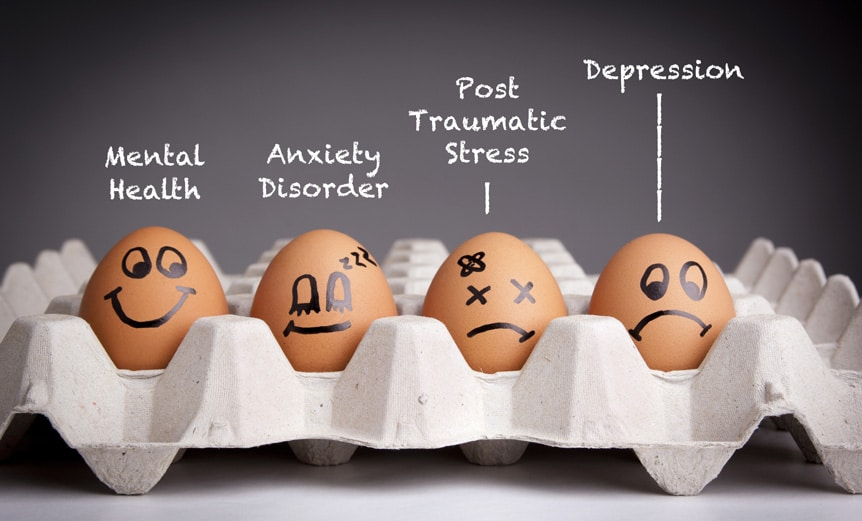 mental health egg graphic