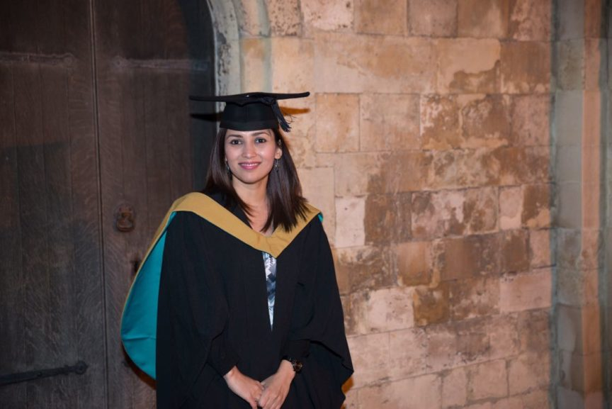 Ayesha-dispensing optician graduation - Spe