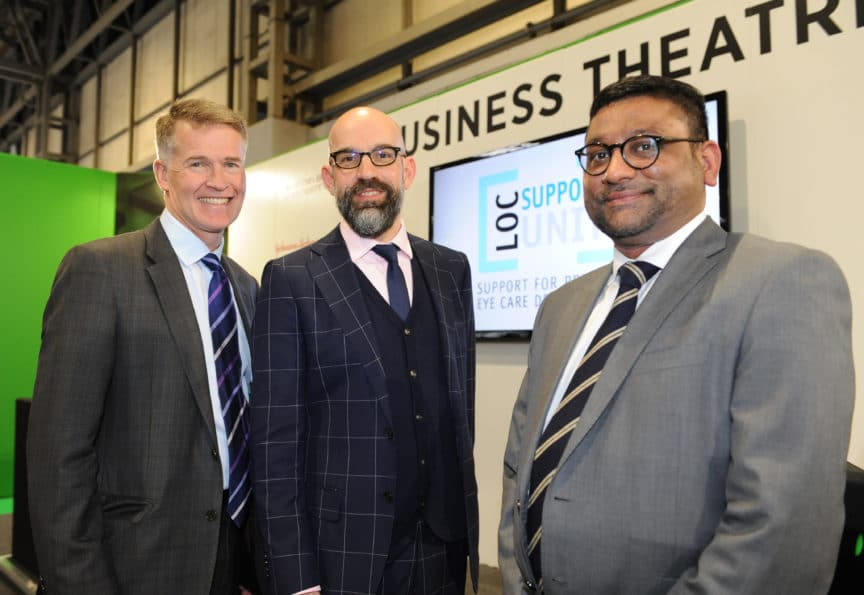 Optrafair2018-LOCSU Newmedica - Nigel Kirkpatrick Richard Whittington Darshak Shah