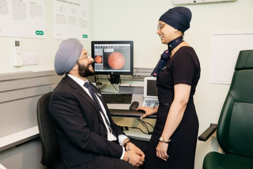 Maidstone 2018 pre-reg optometrists - Jag & Indi