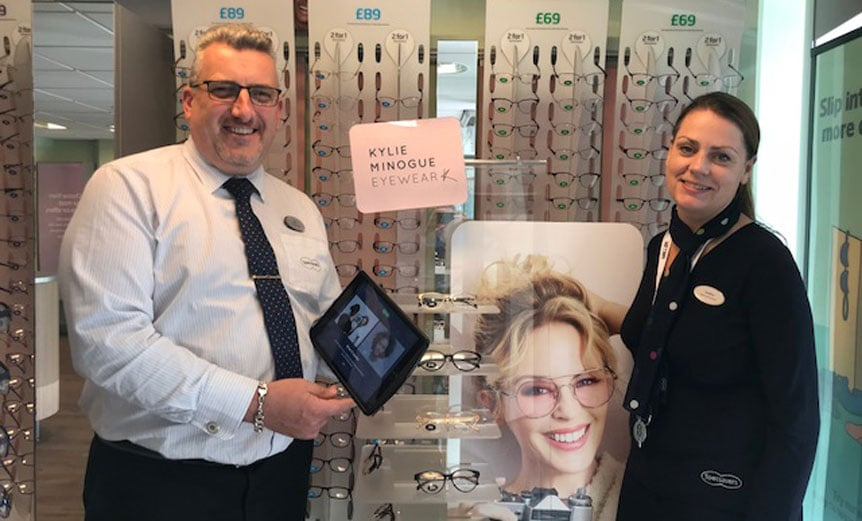 second chance career at Specsavers