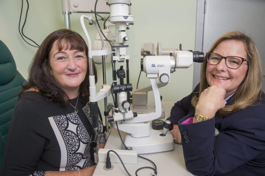 National Eye Health Week - Specsavers customer Elaine Easton - eye cancer found