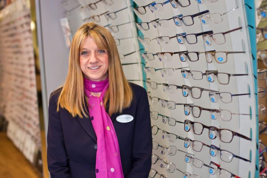 Melanie Brackstone Specsavers Cheltenham