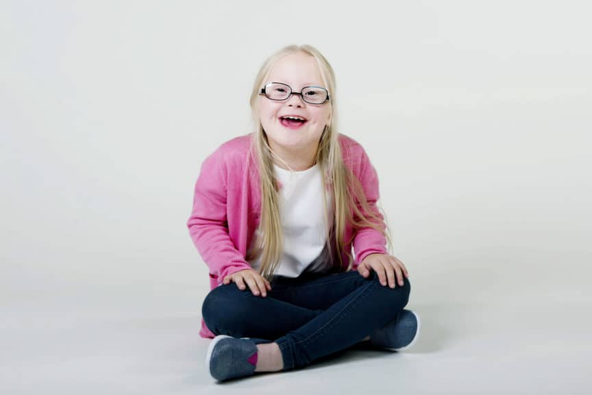 Cora in Specsavers-Disney Kidsfit glasses