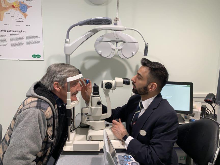 Hemel Hempstead eye test