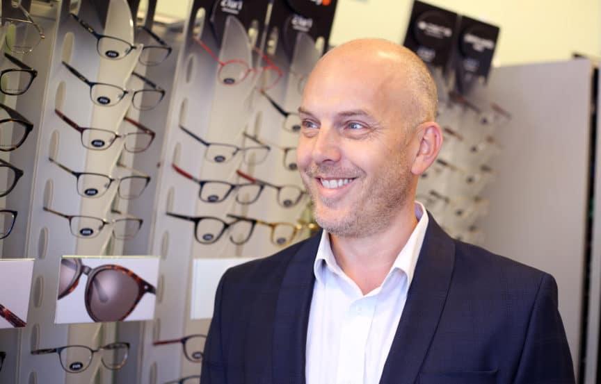 Specsavers East Dereham director Kevin Osbourne