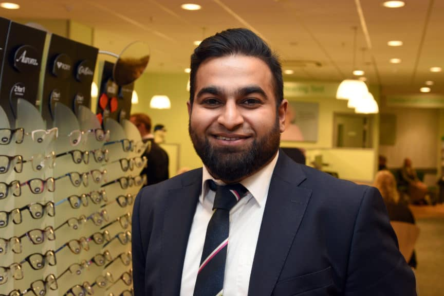 Rizwaan Makda Specsavers Telford Contact Lens Optician