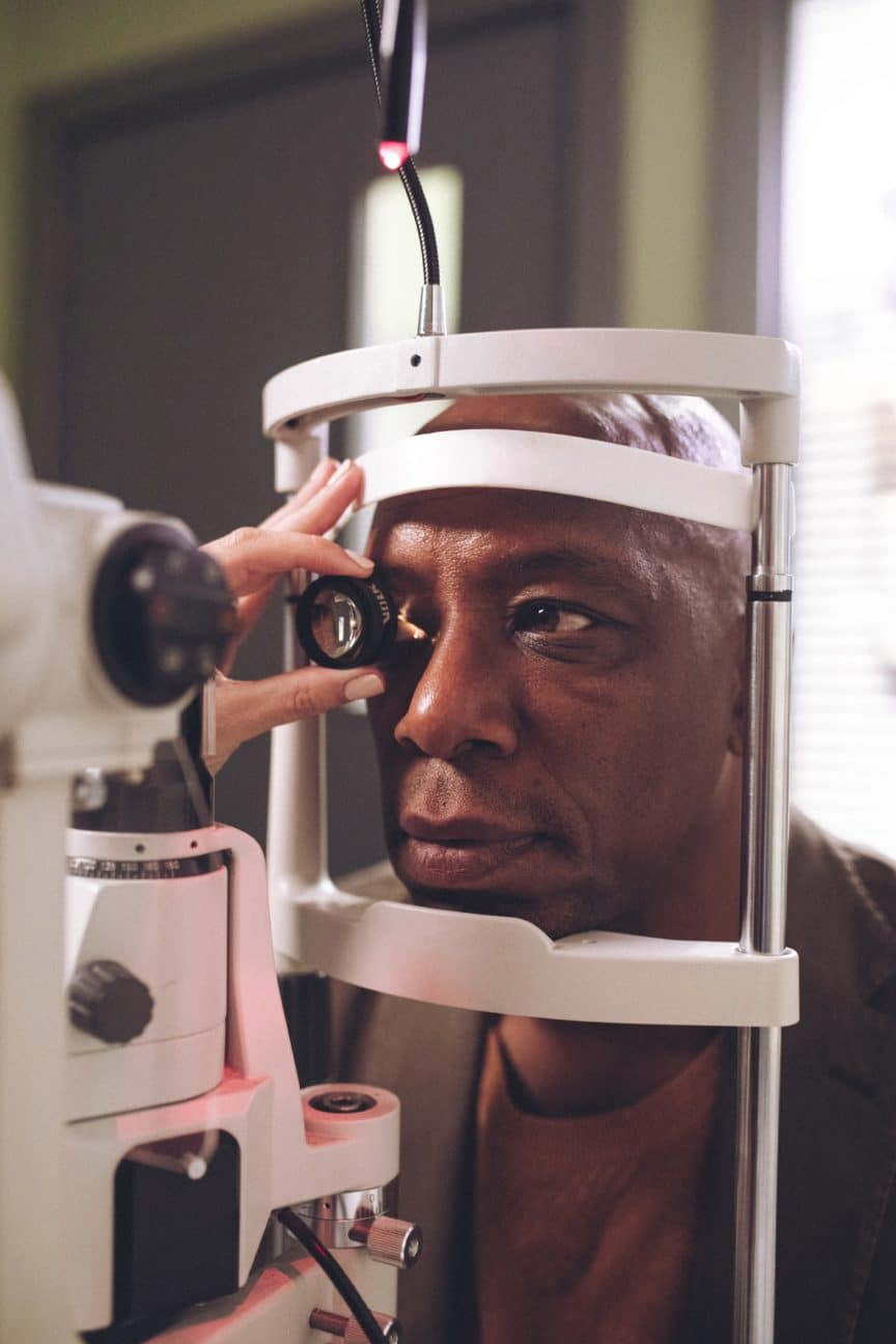 Ian Wright has an eye test