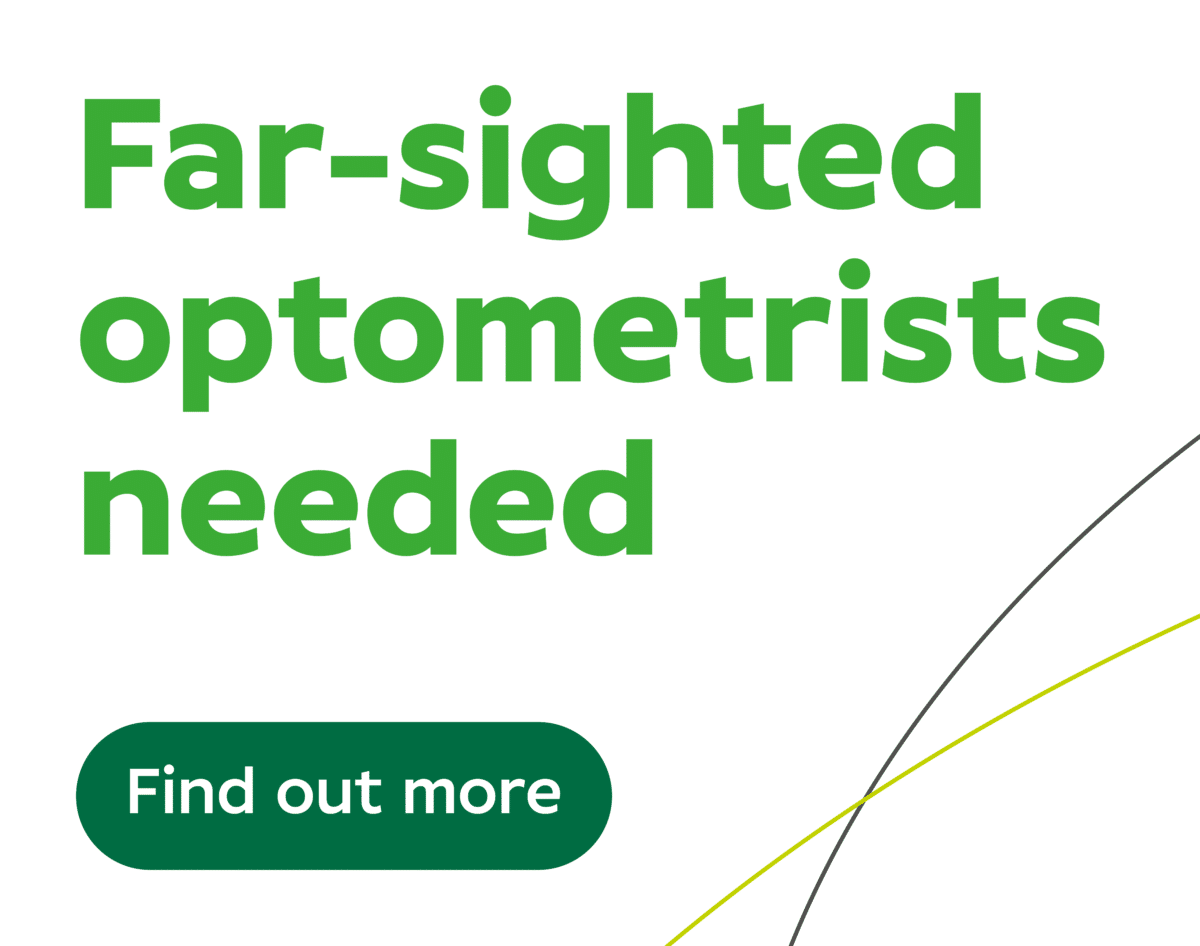 Far-sighted optometrists needed