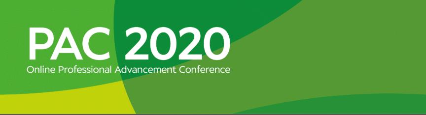 PAC 2020 banner