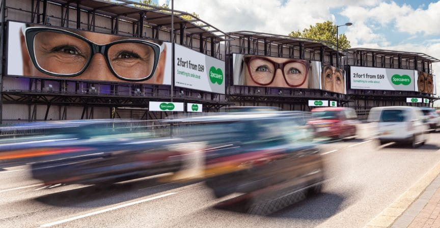 Specsavers Something to smile about_Billboard
