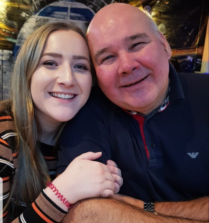 daughter and dad
