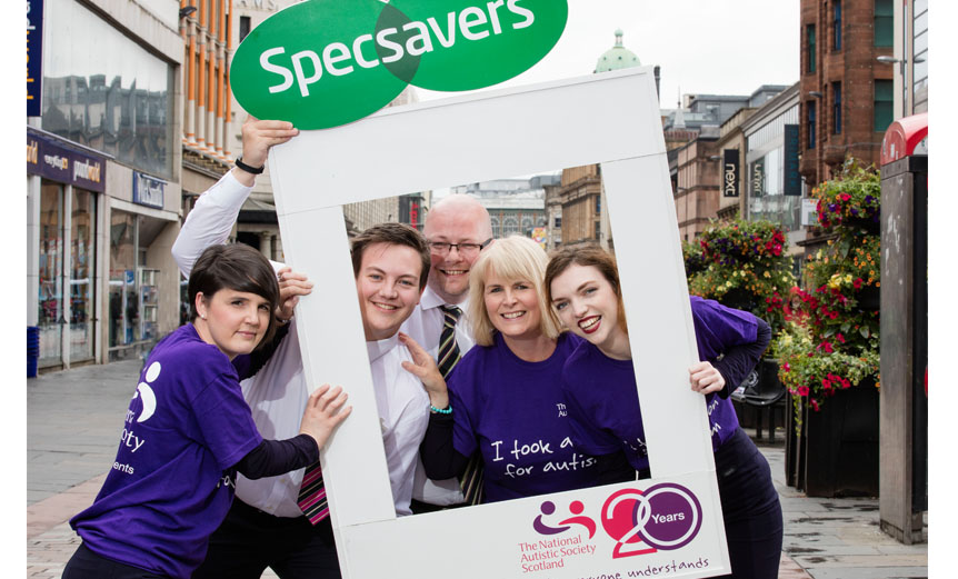 Specsavers Trongate - first autism-friendly optician-Spectrum