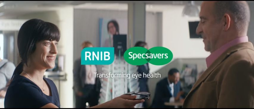 Specsavers 2016 TV ad end screen